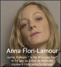 """""""Anna Flori-Lamour"""" au Zèbre de Bellevi"""