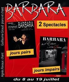 """""""Barbara... de l'Écluse à la scène"""""""