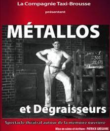 """""""Métallos et dégraisseurs"""", de Patrick Grégoire"""