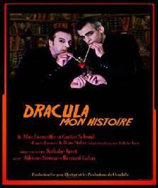 """""""DRACULA MON HISTOIRE"""", d'Alain Commillie et Gaëtan Schmid"""