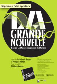 """""""GRANDE NOUVELLE (LA)"""", de Jean-Louis Bauer et Philippe Adrien"""