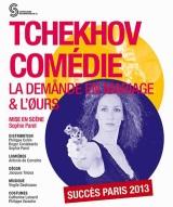 """""""DEMANDE EN MARIAGE (LA) & L'OURS"""", de Tchekhov"""