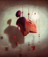 """""""Caché dans son buisson de lavande, Cyrano sentait bon la lessive"""", de Taï-Marc Le Thanh & Dautremer"""
