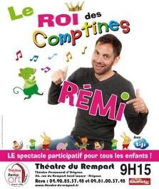 """""""Rémi - Le roi des comptines"""", de Rémi Guichard, Coralline Pottiez"""