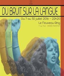 """""""Du bruit sur la langue"""", de Leïla Anis"""