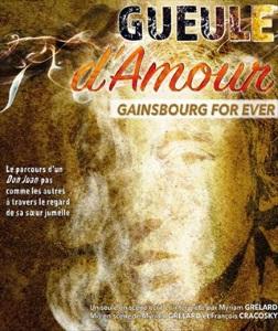 """""""Gueule d'amour - Gainsbourg for ever"""", de et avec Myriam Grélard"""