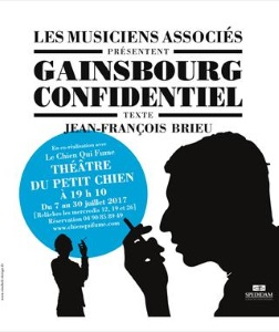 """Gainsbourg confidentiel"", de Jean-François Brieu"
