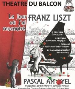 """""""Jour où j'ai rencontré Franz Liszt (Le)"""", de Pascal Amoyel"""