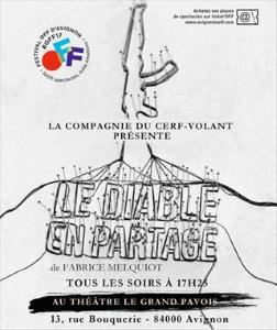 """""""Diable en partage (Le)"""", de Fabrice Melquiot"""