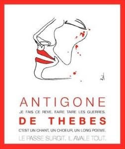 """""""Antigone de Thèbes"""", de Sophocle, Véronique Boutonnet"""