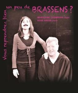 """""""Vous reprendrez bien un peu de Brassens ? """", de Brassens, Chemirani, Brion"""
