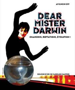 """Dear Mister Darwin - Chansons, reptations, évolution !"", de Caroline Gautier"