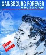 """""""Gainsbourg Forever - Gueule d'amour"""", de et avec Myriam Grélard"""
