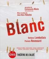 """""""Blanc"""", d'Emmanuelle Marie"""