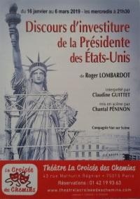"""""""Discours d'investiture de la Présidente des Etats-Unis"""",  de Roger Lombardot"""