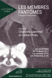 """""""Membres fantômes (Les)"""", de et avec Charlotte Laemmel et Gaëtan Peau"""