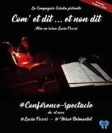 """""""Com' et dit…et non dit"""", d'Hervé Belmontet, Lucia Pozzi"""