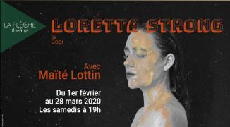 """Loretta Strong"", de Copi"